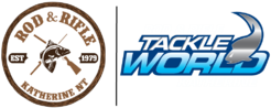 Rod & Rifle TackleWorld Katherine logo