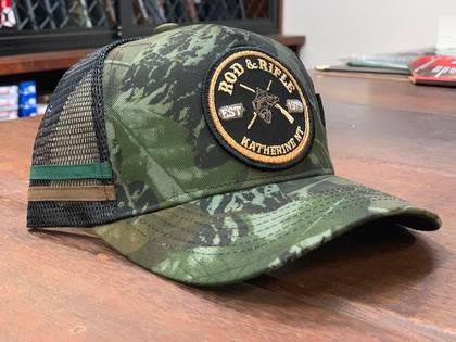 Rod & Rifle Trucker Cap Camo image