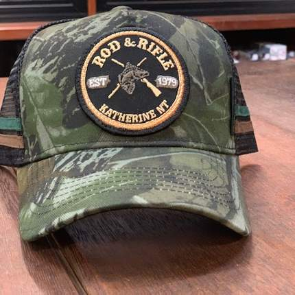 Rod & Rifle Trucker Cap Camo
