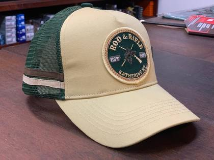 Rod & Rifle Trucker Cap Tan image
