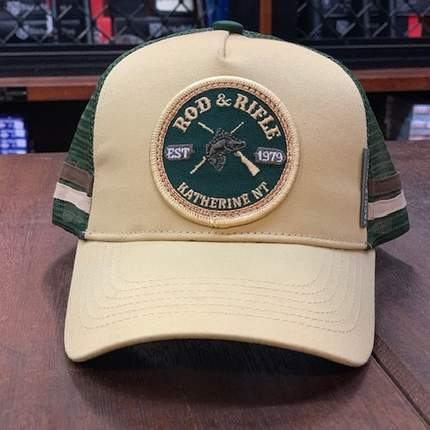 Rod & Rifle Trucker Cap Tan
